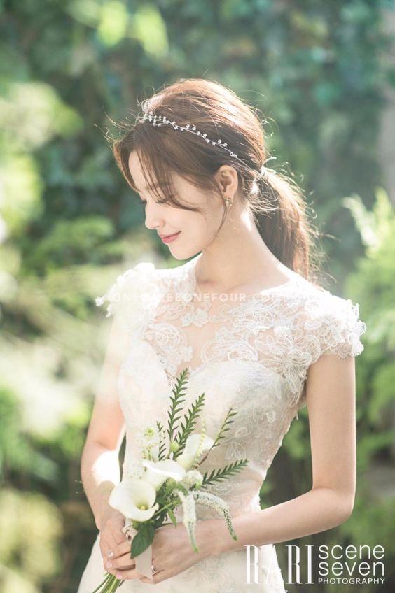 tóc cô dâu hàn quốc đẹp